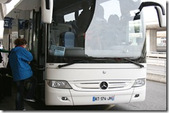 A Mercedes bus - Nice!