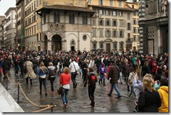 Pretty busy day in Florence