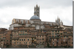 Siena Cathedral (Duomo) from below